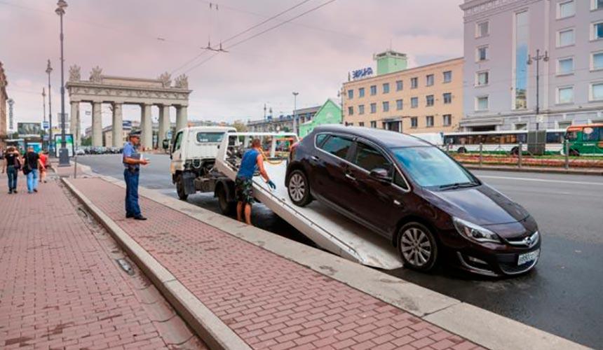 Эвакуация ТС на штрафстоянку